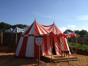 Glamping at Leeds Castle