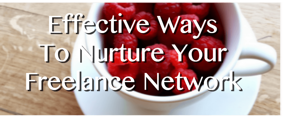 Nurture Your Freelance Network