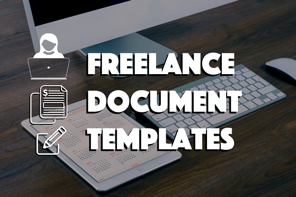 Freelance Document Templates Contract Invoice and Proposal – Freelance Proposal Template